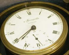 Marine Chronometer, about 1795, Serial number, 83. Hood Museum of Art, Dartmouth College: Allen King Collection of Scientific Instruments, Hood Museum of Art, Dartmouth College; 2002.1.34751