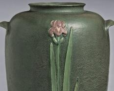 Grueby Faience Company, American, 1897 - 1910 Vase about 1901 Glazed earthenware Hood Museum of Art, Dartmouth College: Gift of William P. Curry, Class of 1957; C.986.78