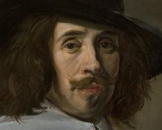 Frans Hals I, Dutch, 1582/83-1666, Portrait of a Man, 1640s, oil on canvas. Hood Museum of Art, Dartmouth College: Bequest of Helene and Clarence Buttenwieser, Class of 1919; 2009.78.1.