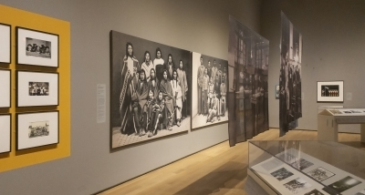School Photos and Their Afterlives opens to the public on January 8! Photo by Alison Palizzolo.