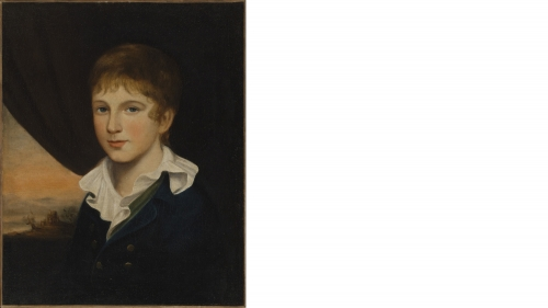 Washington Allston, Eben Flagg, about 1801, oil on canvas. Gift of Priscilla P. and William M. Chester Jr.; 2013.25.