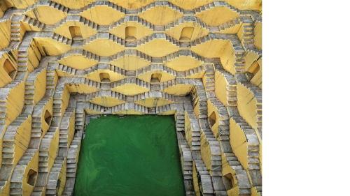 Edward Burtynsky, Stepwell #2, Panna Meena, Amber, Rajasthan, India, 2010, digital chromogenic color print. Purchased through a gift from the Dau Family Foundation; Barbara Dau, Class of 1978, Elizabeth Hoffman, Class of 2013 and Katherine Conway, Class o