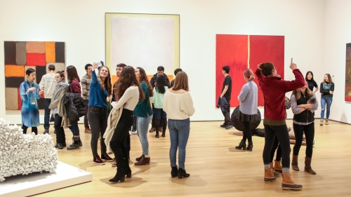 Dartmouth Students in the Expanding Universe of Postwar Art