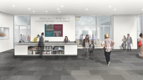 Rendering of Center for Object-Based Inquiry