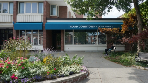 The Hood Downtown exhibition space, located at 53 Main Street Hanover, NH, will open to the public on September 16, 2016.