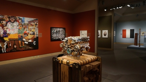 Inventory: New Works and Conversations around African Art in the Friends and Cheatham Galleries. Photo by Alison Palizzolo.