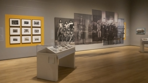 School Photos and Their Afterlives on view in the Northeast Gallery through April 12, 2020. Photo by Alison Palizzolo.