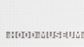 "Rendering of exterior signage, with new ""Hood Museum of Art"" wordmark."