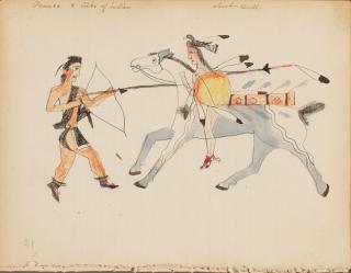 Short Bull (Tatanka Ptecela), untitled