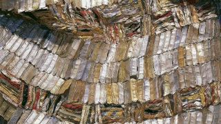 El Anatsui, Ghanaian, born 1944, Hovor, 2003, aluminum bottle tops and copper wire, 240 x 216 in. (609.6 x 548.6 cm). Hood Museum of Art, Dartmouth: Purchased through gifts from the Lathrop Fellows; 2005.42. © El Anatsui