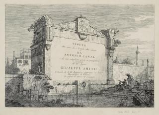 Giovanni Antonio Canal (Canaletto), Title Plate