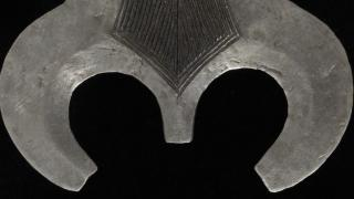 Unknown artist, Teke peoples, Ngala peoples, Democratic Republic of Congo, Central Africa, executioner's sword (detail), metal. Hood Museum of Art, Dartmouth College: Museum purchase; 39.64.6954.