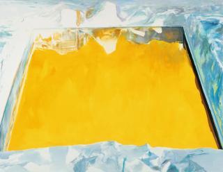 Eric Aho, Ice Cut (Arctic Sky), 2015