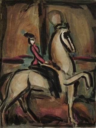Georges Rouault, Amazone (Equestrian)