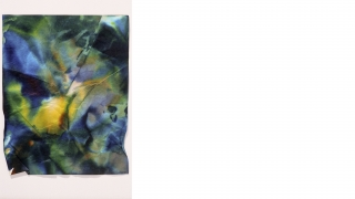 Sam Gilliam, Untitled, watercolor on fiberglass paper