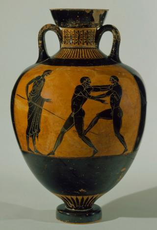 Ancient Greek Pottery Hood Museum