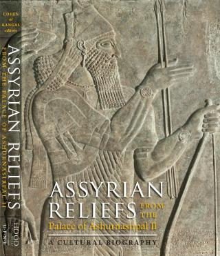 Catalogue cover of Assyrian Reliefs from the Palace of Ashurnasirpal II: A Cultural Biography.