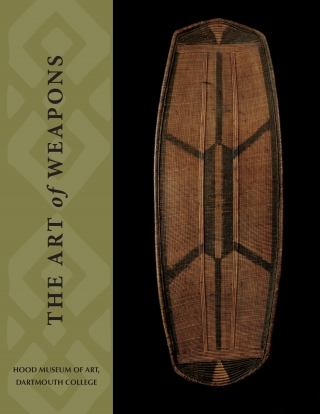 "Cover of the exhibition brochure ""The Art of Weapons""."