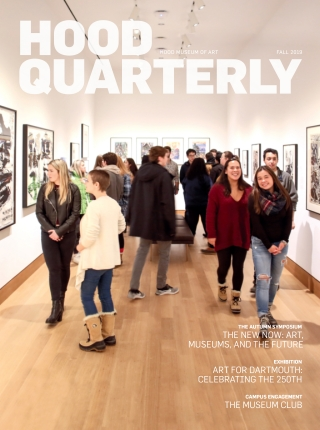 Cover of the 2019 fall Hood Quarterly. Photo by Rob Strong.