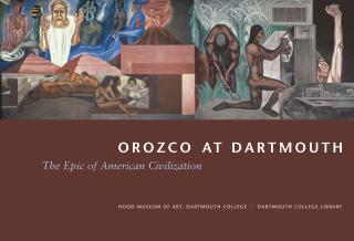 Orozco at Dartmouth cover