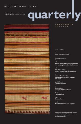 Hood Quarterly Spring/Summer 2009 Cover