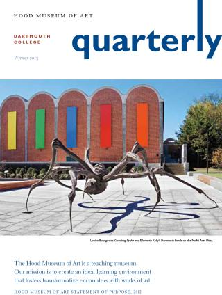 Hood Quarterly Winter 2013 Cover