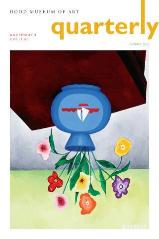 Hood Museum of Art Quarterly Cover, Autumn 2015