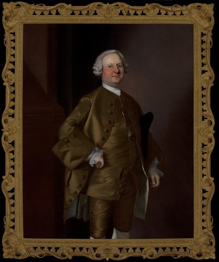 Portrait of Jonathan Simpson by Joseph Blackburn