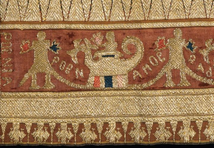 Detail of a tapis, Indonesian textile