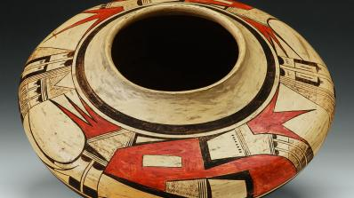 Nampeyo, Hopi, Hano Pueblo, seed jar