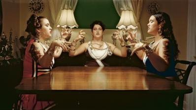 Luis Gispert, Untitled (Dinner Girls)