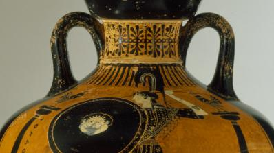 Panathenaic Amphora, 480-470 BCE, Greece