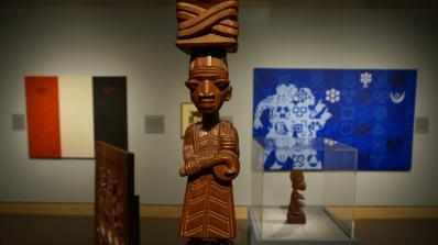 Inventory: New Works and Conversations around African Art in the Hood's Friends and Cheatham Galleries. Photo by Alison Palizzolo.
