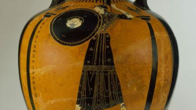 Panathenaic Amphora, Attributed to the Berlin Painter