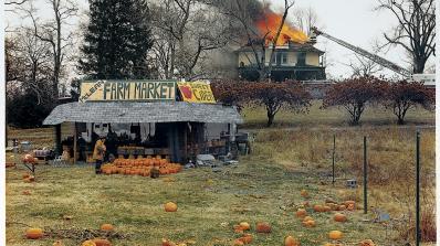 Modern Photography: McLean, Virginia (Pumpkins) by Joel Sternfeld