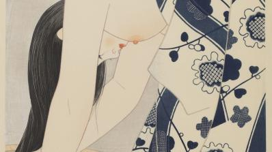Itō Shinsui, Hair, 1952