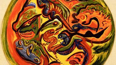Jackson Pollock, Untitled (Circle)
