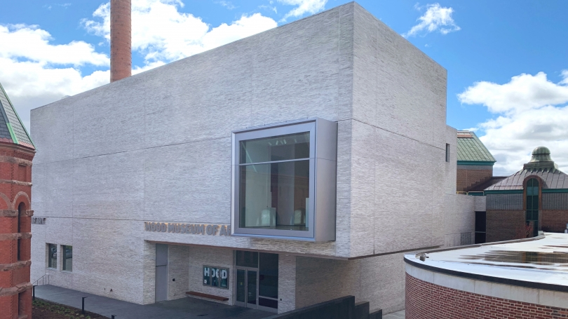 The Hood Museum of Art, Dartmouth. Photo by Alison Palizzolo.