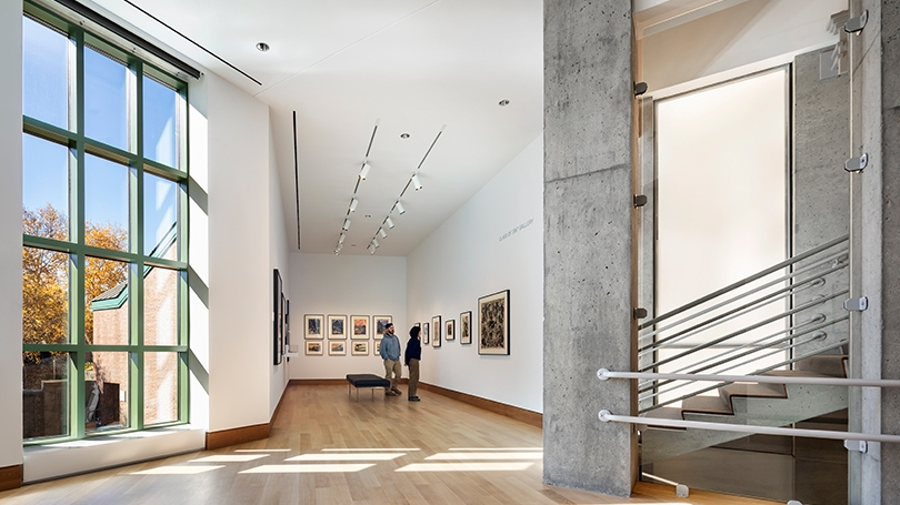 View of the Class of 1967 Gallery