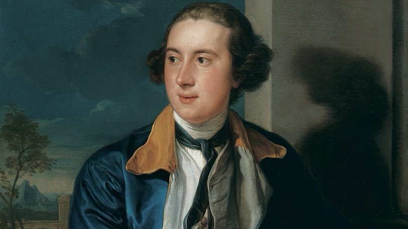 Pompeo Batoni, Italian, 1708-1787, William Legge, Second Earl of Dartmouth (1731-1801), 1752/53-1756, oil on canvas.