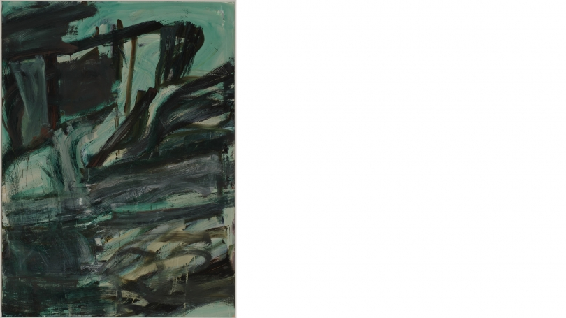 Louise Fishman, Green's Apogee, 2005, oil on canvas. Purchased through gift of Mr. and Mrs. Joseph H. Hazen by exchange; 2013.23.