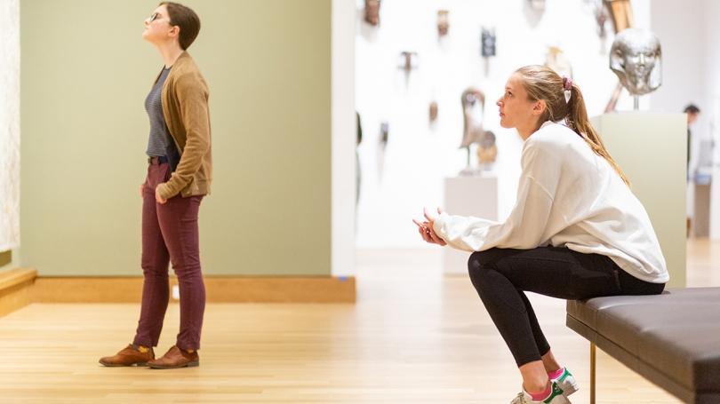 Allie Carey '20 in Kim Gallery