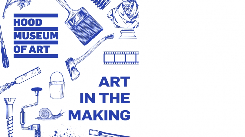 This podcast, hosted by Dartmouth students Caroline Cook '21 and Courtney McKee '21, traces the history of various materials used to make art through the ages and highlights works in the Hood Museum of Art's collection that you can see for yourself.