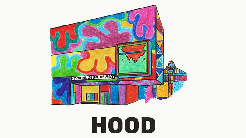 Hood Museum Coloring Pages Hood Museum