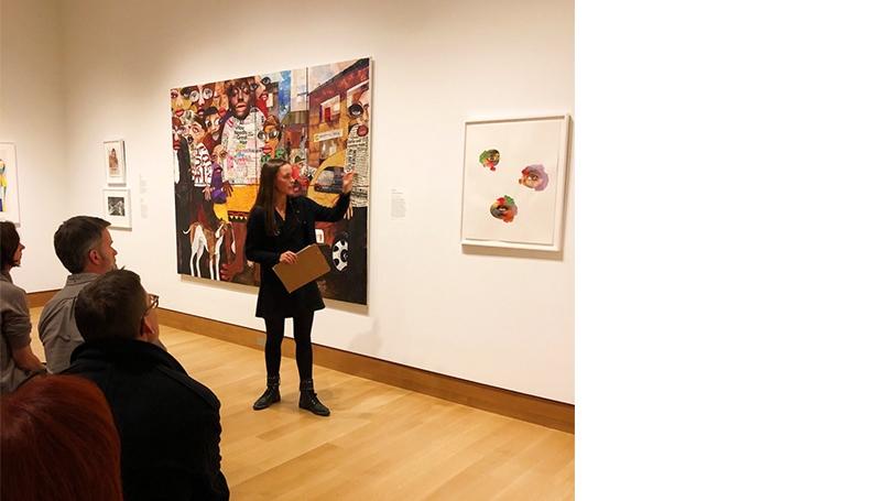Devon Mifflin '21 in Gutman Gallery