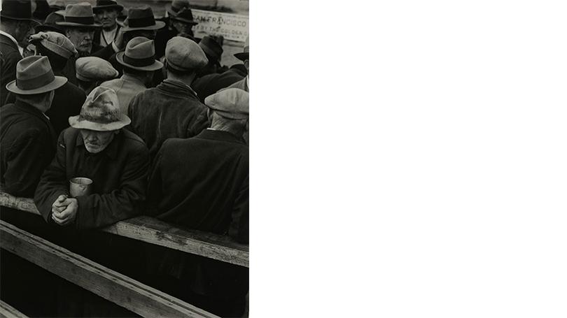 Dorothea Lange, White Angel Breadline, negative 1932, print 1940s