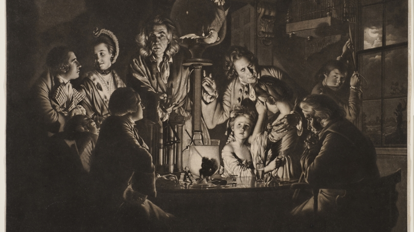 Valentine Green after Joseph Wright of Derby, Experiment on the Air Pump