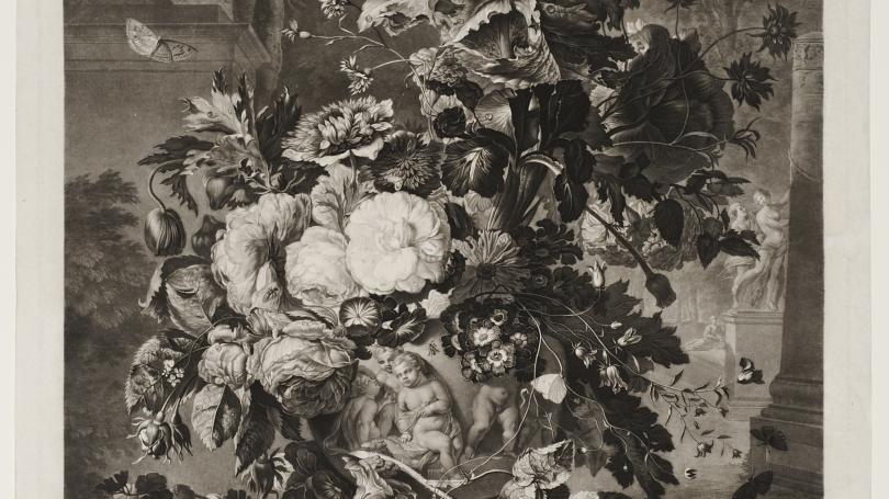Richard Earlom after Jan van Huysum, A Flower Piece