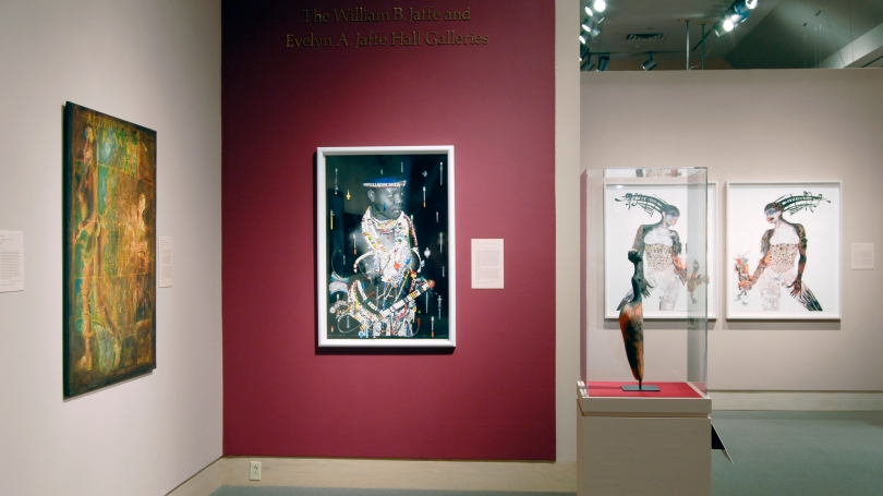 Black Womanhood: Images, Icons, and Ideologies of the African Body installed at the Hood Museum of Art. Photo by Jeffrey Nintzel.