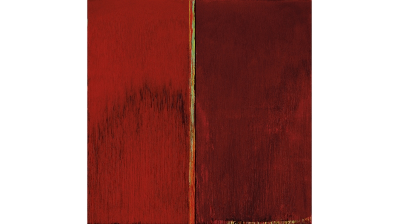 Pat Steir, Red and Red